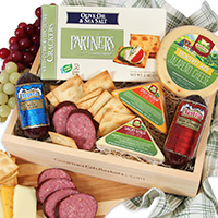 Gourmet Sampler Meat & cheese Sampler
