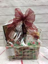 Gourmet Snack Basket Gift Basket