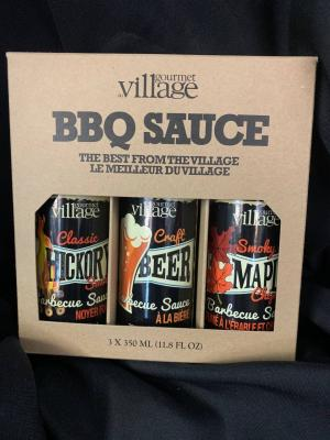 Gourmet Village BBQ Sauce in Red Lake, ON | FOREVER GREEN GIFT BOUTIQUE