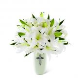 Grace Abounds Sympathy Flower Arrangement