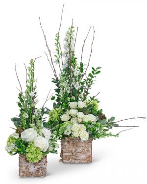 Grace and Elegance Flower Arrangement in Nevada, IA | Flower Bed