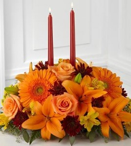 Grace Center Piece Fall Arrangement