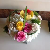 sweet little flower arrangement