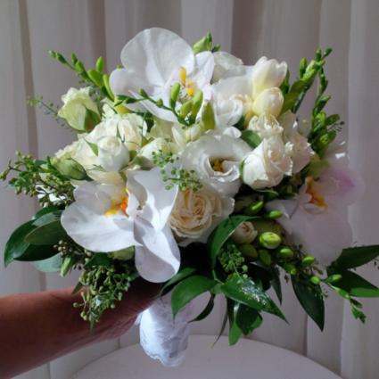 Grace  Hand-tied Bridal Bouquet