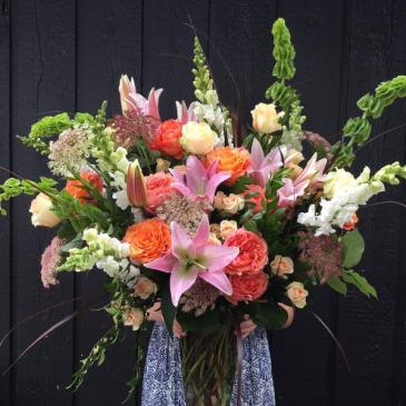 Grace!  Large vase arrangement