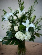 Forever Love large vase premium flowers