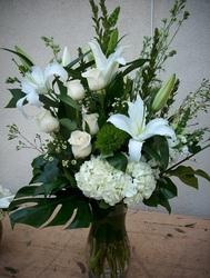 Forever Love large vase premium flowers