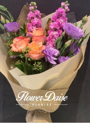 Grace Rustic Posy in Ferntree Gully, VIC | FLOWER DAISE