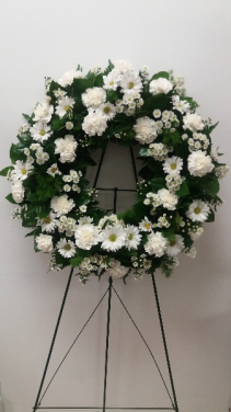 Grace Standing Spray Wreath