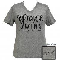 Grace Wins Girlie Girl V-neck