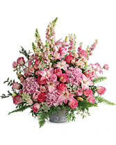 Graceful Arrangement Sympathy Flowers