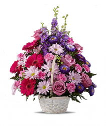Graceful Daydreams Basket Arrangement