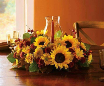 Graceful Fall Centerpiece