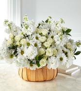 Graceful Garden Basket Arrangement
