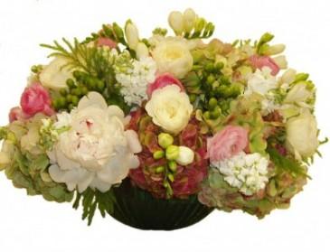 Graceful Garden Party Cut Flower Centerpiece