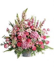 Graceful Glory Bouquet Funeral Bouquet