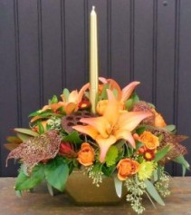 Graceful Glow Thanksgiving Centerpiece