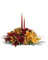 Graceful Glow Thanksgiving Centerpiece