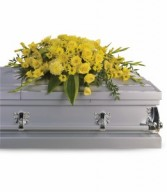 Graceful Grandeur Casket Spray H2421A