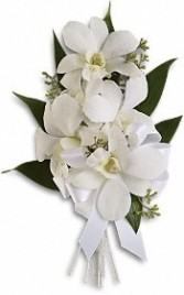 Graceful Orchid Corsage (shoulder)