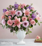 Graceful Pedestal- Pink and Lavender