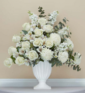 Graceful Pedestal- White