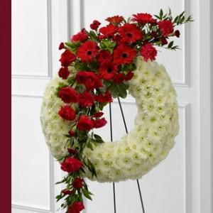 Graceful Tribute Wreath Wreath