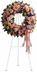 Graceful Wreath Sympathy Wreath