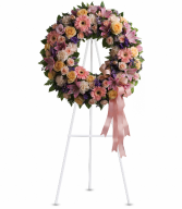 Graceful Wreath Standing Easel