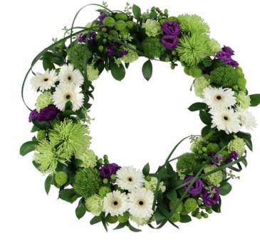 Graceful wreath  Standing wreath