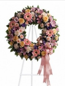 Graceful Wreath Sympathy