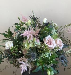 Gracefully Blush Vase Arrangement in Northport, NY | Hengstenberg's Florist