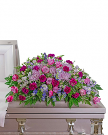 Gracefully Majestic Casket Spray Sympathy