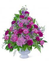 Gracefully Majestic Urn Flower Arrangement