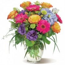 Gracious and Bright Vase Arrangements