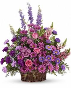 Lavender Wishes Basket