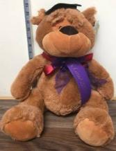 Grad 2020 gift items  Plush grad bear
