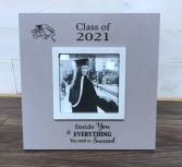 Grad frame Engraved gift