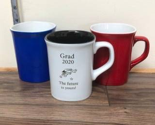 Grad 2020 gift idea Engravable mug