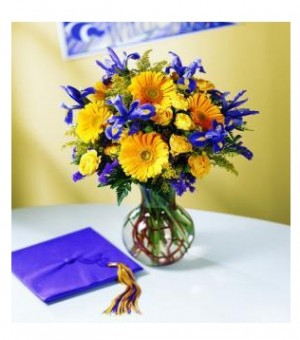Graduation Arrangement  in Oakdale, NY | POSH FLORAL DESIGNS INC.