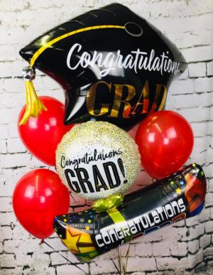 Graduation Balloon Bouquet Balloons in Jacksonville, AR | DOUBLE R FLORIST