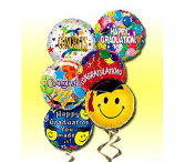 Graduation Balloon Bouquet Mylar Balloons