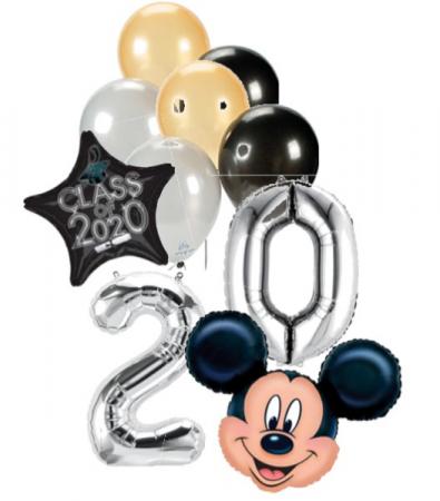 Graduation Balloons #3 Mickey Mouse