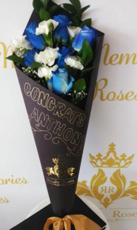Graduation Bouquet Paper wrapped Graduation bouquet