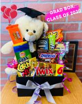 Graduation Box of Treats and Bear BEST SELLER