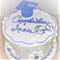 Graduation Cake Sweet Blossoms