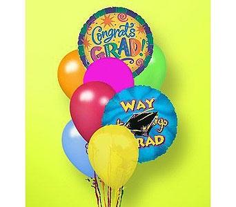Graduation / Congratulations Balloon Bouquet