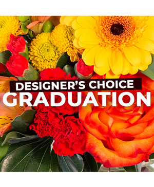 Graduation Florals Designer's Choice in Valentine, NE | Janine's Flower Exchange