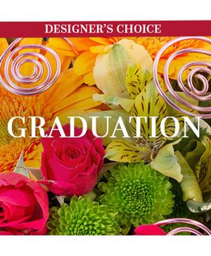 Graduation Flowers Designer's Choice in Burlington, VT | Kathy + Co Flowers