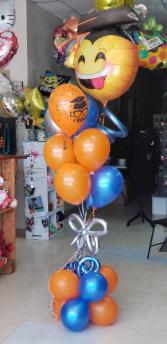 Graduation Grand Slam Balloon Bouquet BALLOON BOUQUET